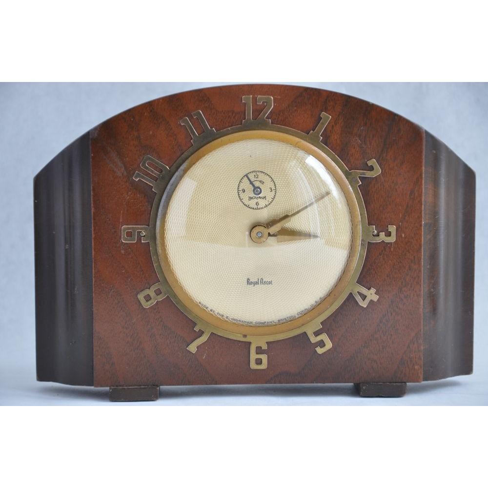 horloge ingraham royal ascot 864 art d co sonnerie usa. Black Bedroom Furniture Sets. Home Design Ideas