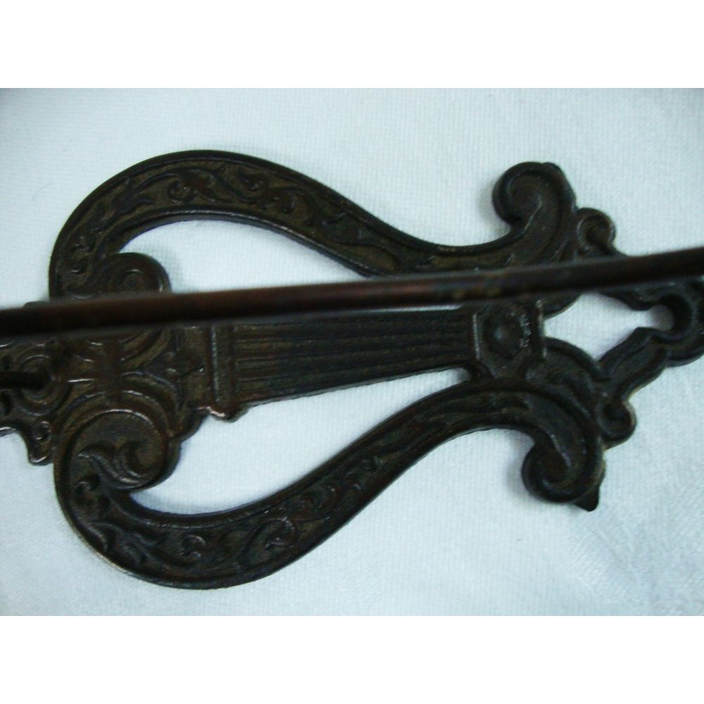 inches long Solid Metal English LotB2 Cast Iron Misson Key Antique Style HUGE 6