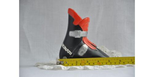 Botte de ski miniature publicitaire Munari échantillon de vendeur