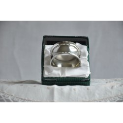Pewter Napkin Ring Holder New in the Original Box