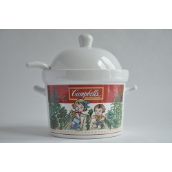 Soupière de collection Campbell's en porcelaine