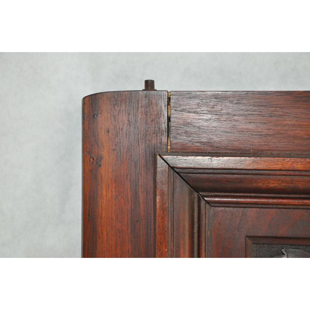 porte de meuble victorien antique en acajou d cor de rinceaux. Black Bedroom Furniture Sets. Home Design Ideas