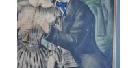Lithographie originale ancienne de N. Currier