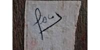 Torse de femme en ébène sculpté signé