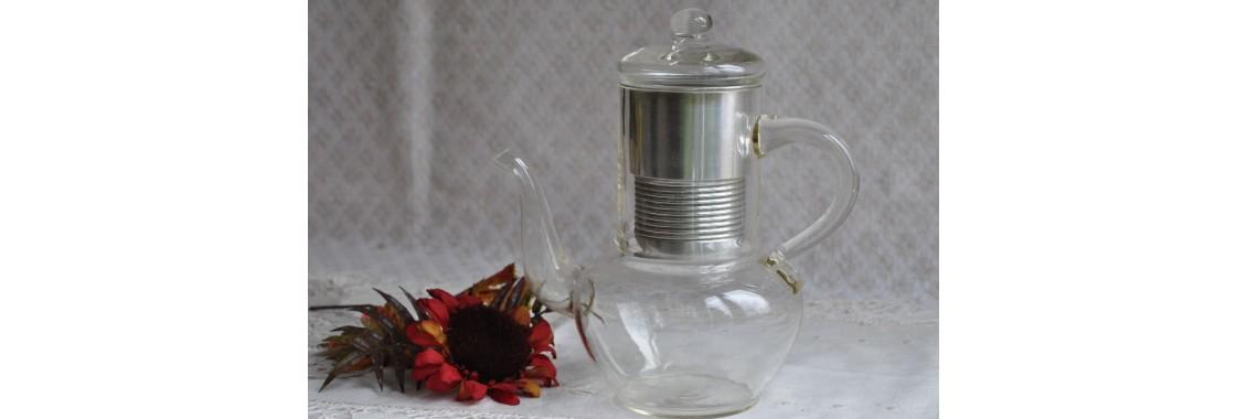 Antique Pyrex Coffee Pot