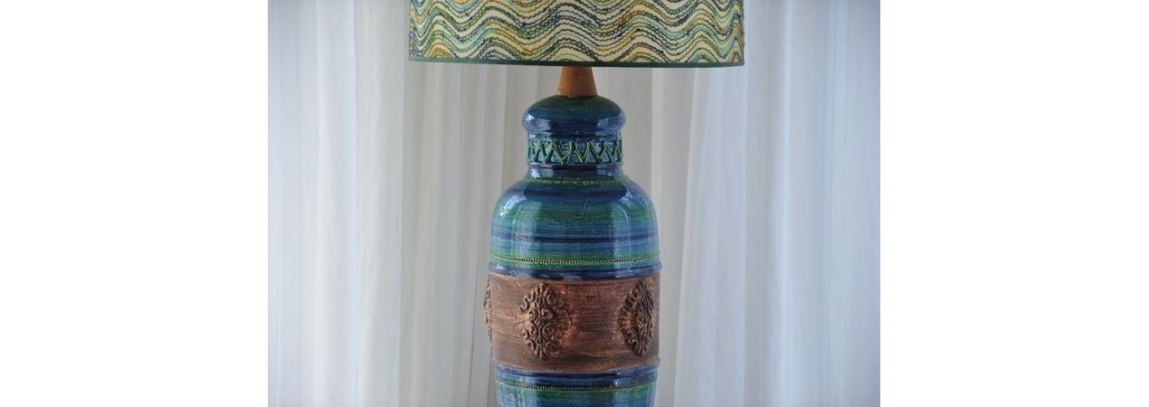 Rimini Blue Bitossi Table Lamp