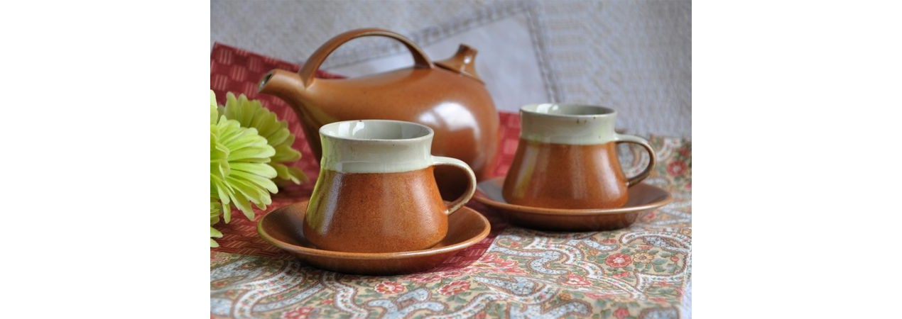 Sial Teapot with Cups