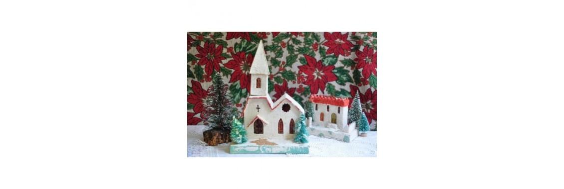 Petit village de Noël