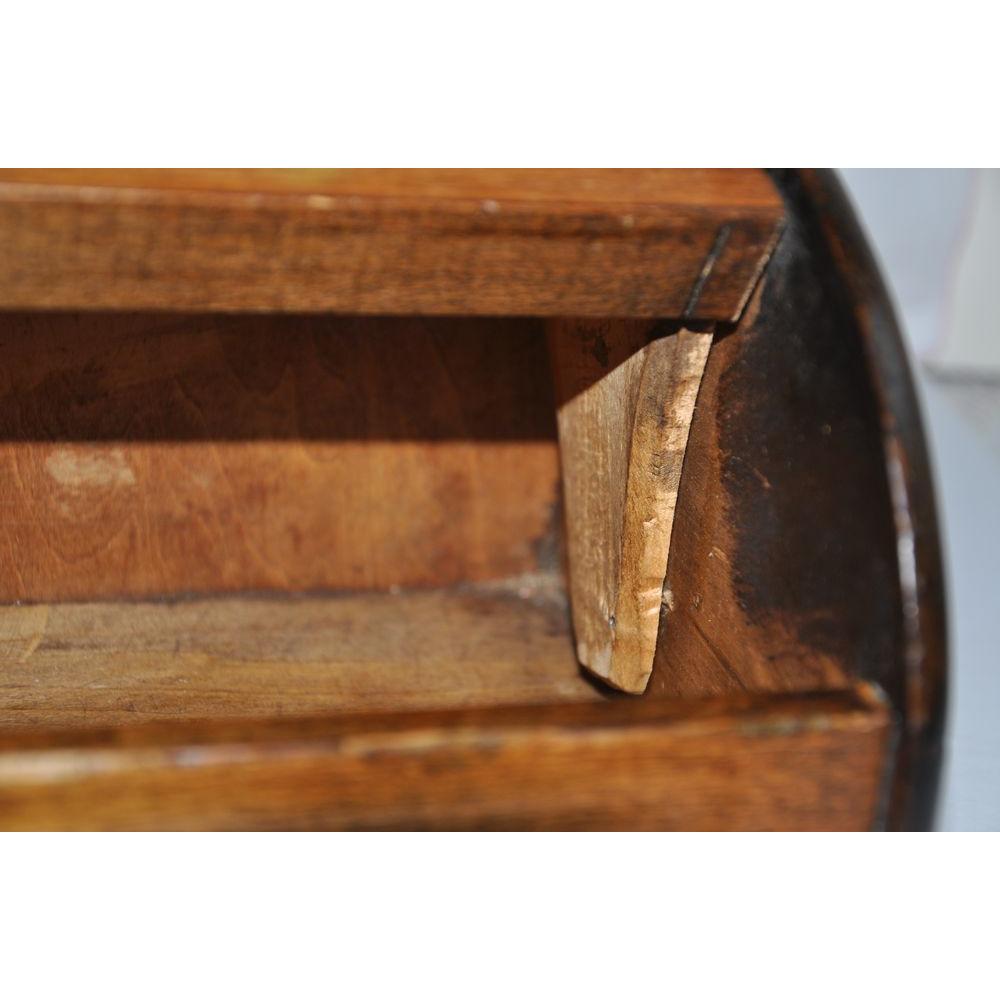 miroir mural ou poser antique en bois porte bougies canadien. Black Bedroom Furniture Sets. Home Design Ideas