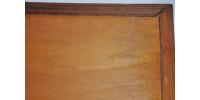Table pliante à plateau amovible en noyer noir