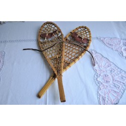 Small Native Style Snowshoes Salesman Sample