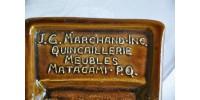 Cendrier publicitaire céramique de Beauce