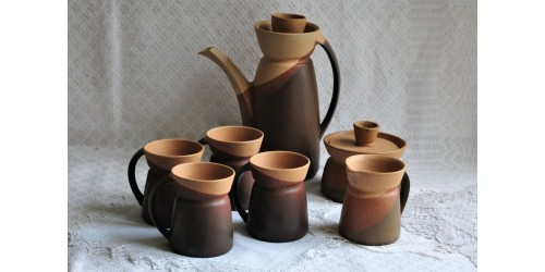 Complete Sial 2 Coffee Set  by Pierre Legault