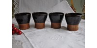 Sial Oval Pottery Medium Size Tumblers