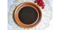 Assiettes à pain SIAL brun tenmoku