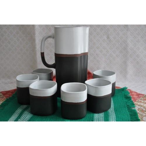 Maurice Savoie's Ceramic Art Pottery Set