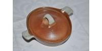 Casserole ovale individuelle Sial avec couvercle