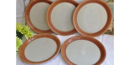 Assiettes à dîner SIAL en grès vendues à l'unité