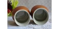 Tasses sans anse ou gobelets SIAL en grès
