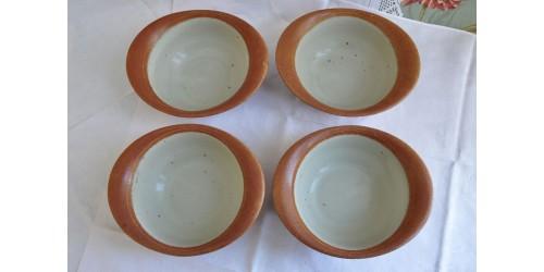 Bols à soupe ovales en grès vendus à l'unité