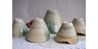 Vaisselle en poterie du céramiste Gilles Dionne
