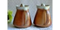 Pichet, cafetière ou chocolatière en grès Sial