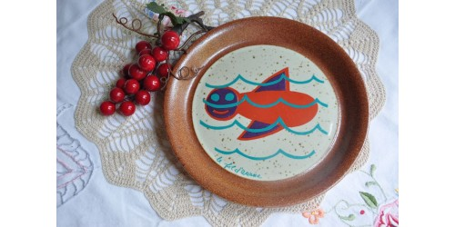 Small Sial Stoneware Special Selection Plate