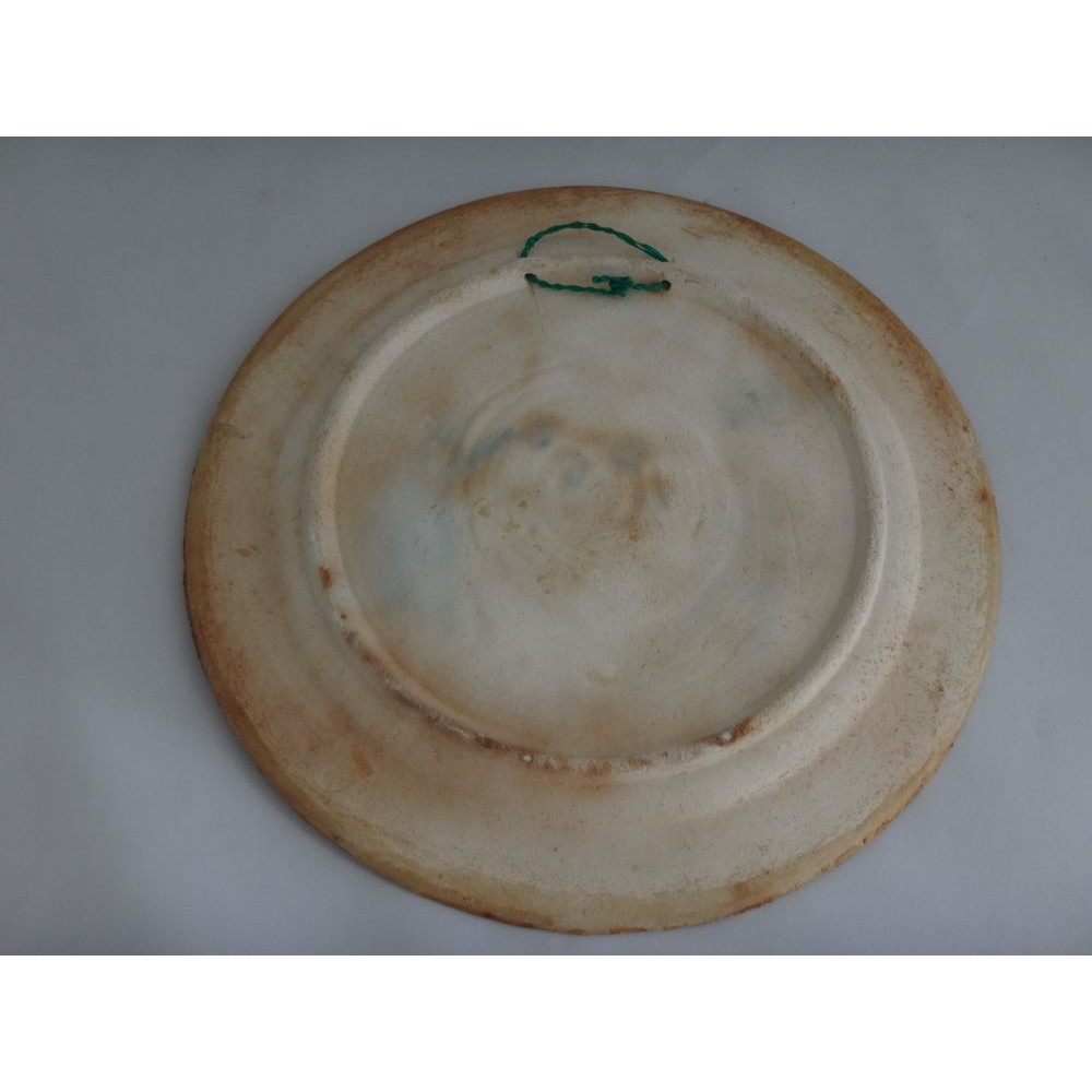 Assiette Decorative De Collection Vintage Canadienne En Poterie D