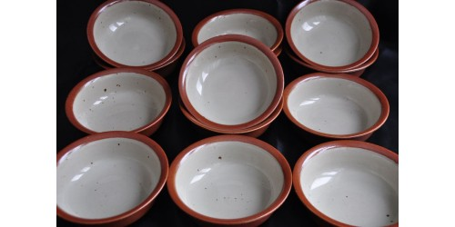 Sial Stoneware Soup/Cereal Off-White Bowls