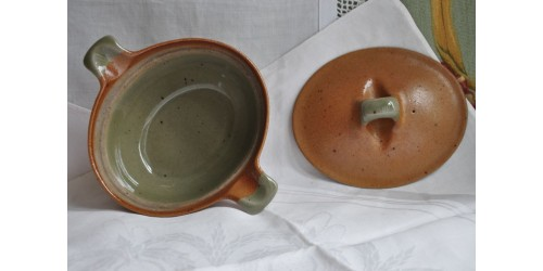 Sial Pottery Small Oval Lidded Casserole