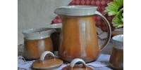 Service à café Sial II avec cafetière ovale