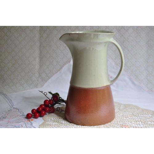 Vintage Sial Cerval Stoneware Pitcher