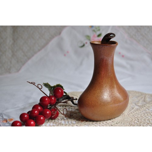 Sial Stoneware Oil or Vinegar Cruet with Stopper