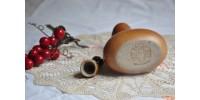 Huilier ou vinaigrier SIAL en grès avec bouchon