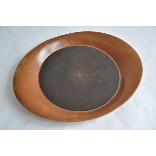 Vintage Sial OVAL Stoneware Serving Plate