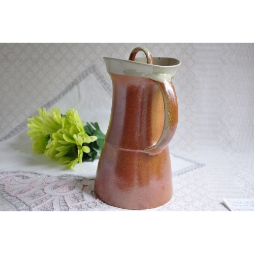 Vintage Sial/Cerval Large Stoneware Coffee Pot