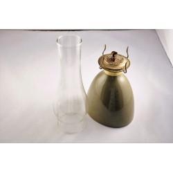 Rare lampe à huile vintage en céramique Sial