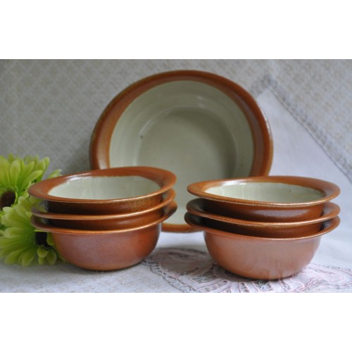 Sial Oval Stoneware Soup/Salad/Cereals Bowls