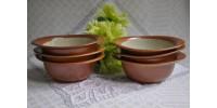 Bols Sial à soupe ou salade service Oval vendus à l'unité
