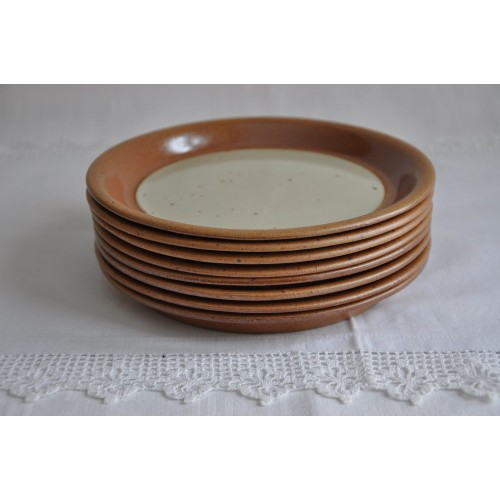 Sial Stoneware Bread/Butter Plates