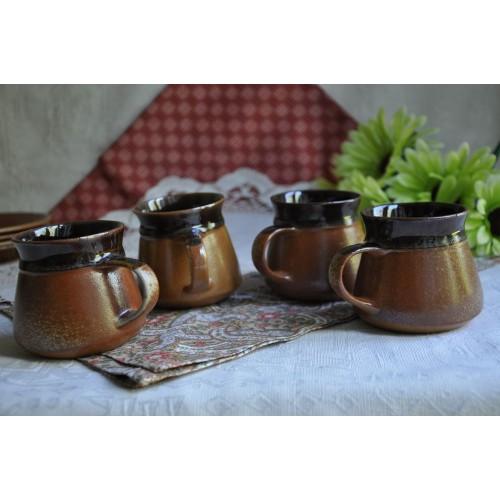 Sial Stoneware Espresso Lungo 7.5 cm Cups