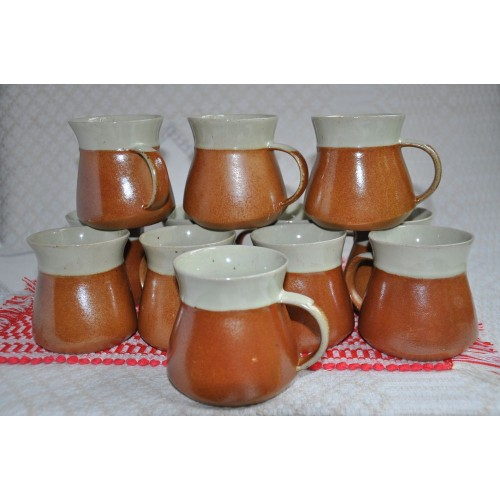 Sial Stoneware Large Coffee Cups or Mugs