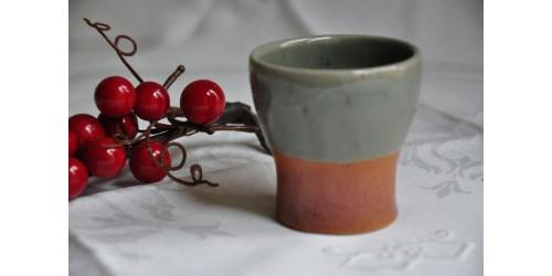 Verre ou gobelet SIAL Oval en grès de 7 cm