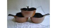 Bols à soupe à l'oignon conçus par Pierre Legault