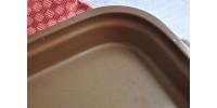 Plat carré en grès Sial pour cuisson au four