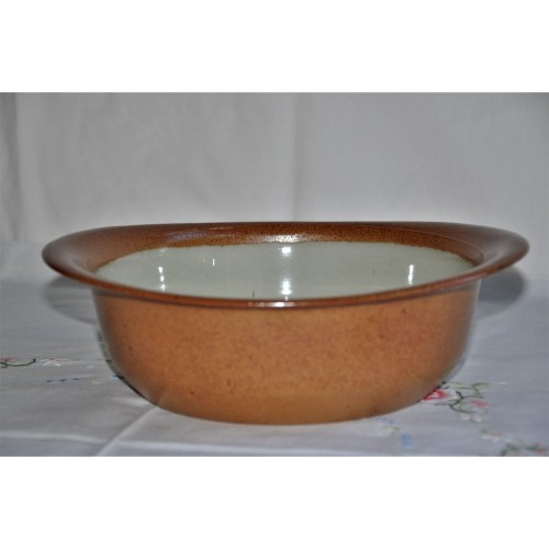Sial Oval Stoneware Vegetable/Salad Serving Bowl