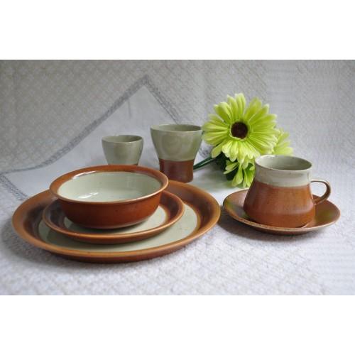 Service de table complet Sial/Cerval en grès léger