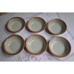 Sial Stoneware Custard or Compote Dessert Bowls