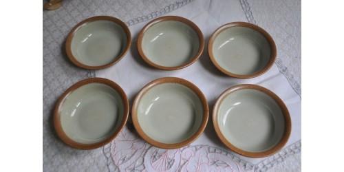 Bols à dessert, crème ou compote en grès SIAL
