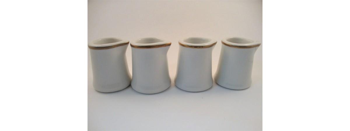 Small Syracuse Milk Jugs